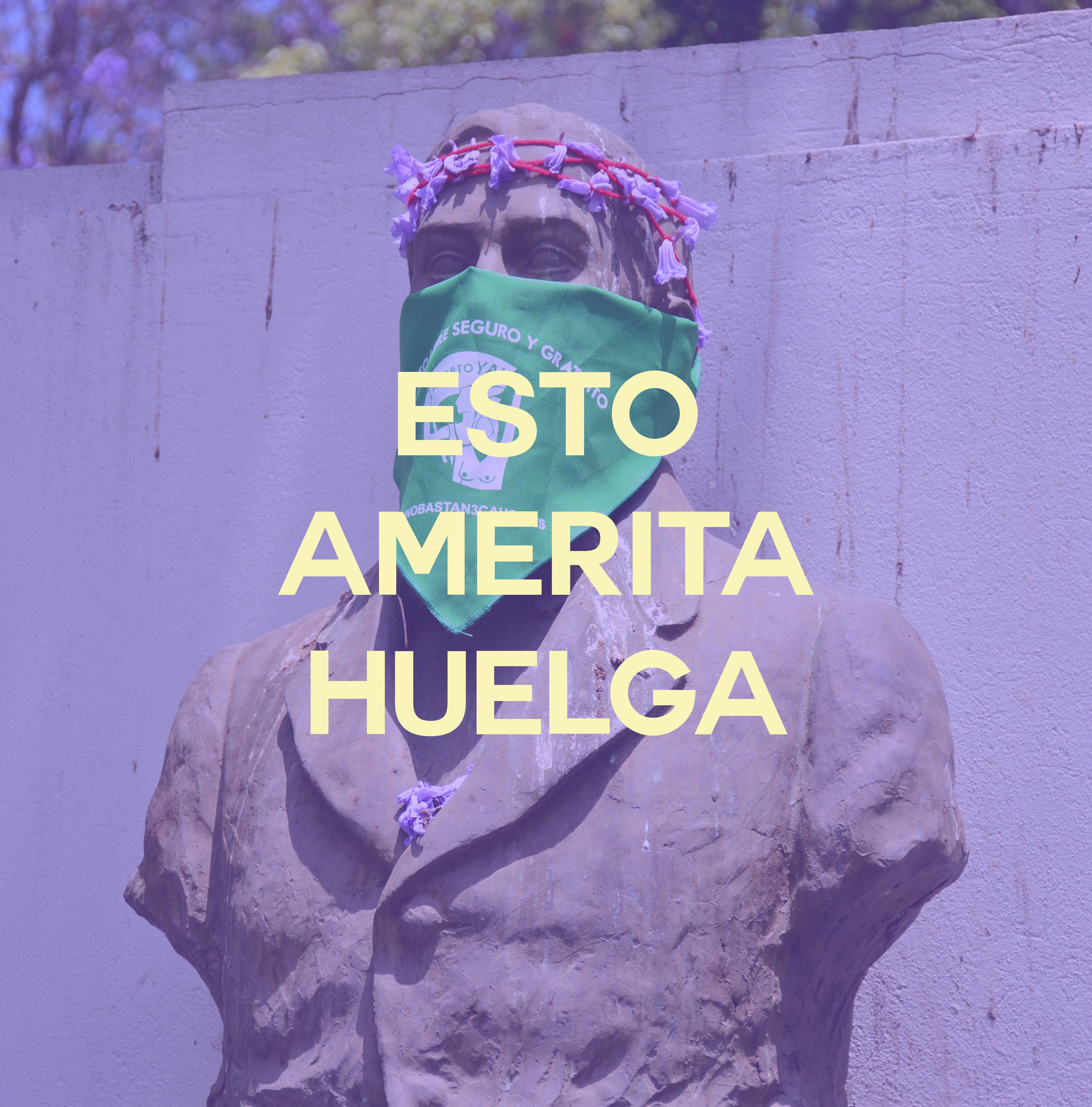 #EstoAmeritaHuelga: nuevo podcast dedicado a la huelga feminista del 8 de marzo